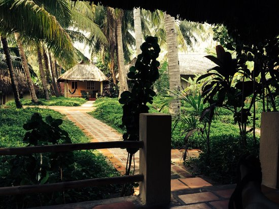 Viet Thanh Resort: Blick aus Bungalow