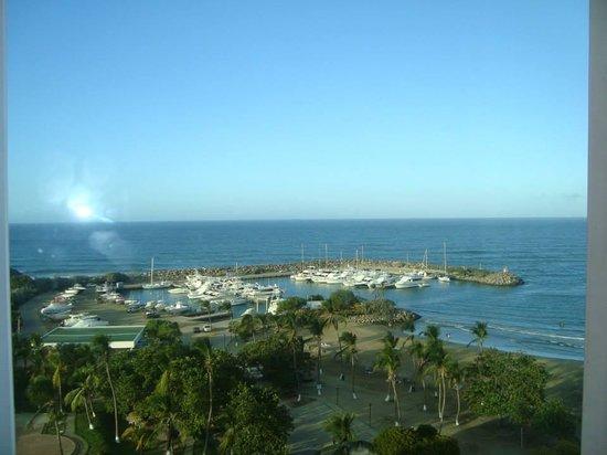 Playa Grande Caribe Hotel & Marina: Vista desde la Suite