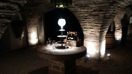 Authentica Tours : Cellar at Pierre Andre au Chateau de Corton Andre