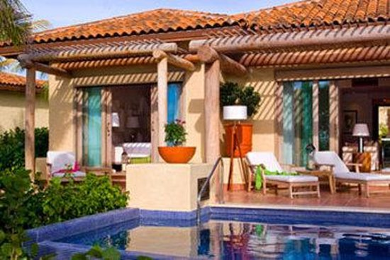 The St. Regis Punta Mita Resort: Luxury Suite Terrace with Private Pool
