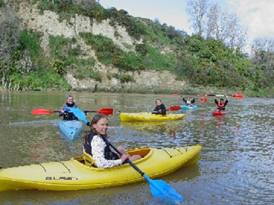 Whanganui River Top 10 Holiday Park : Kayak hire available