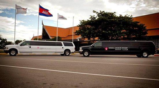 Sokha Angkor Resort: Limosine