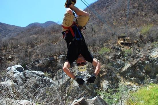 Cabo Adventures: Inverted Zipline