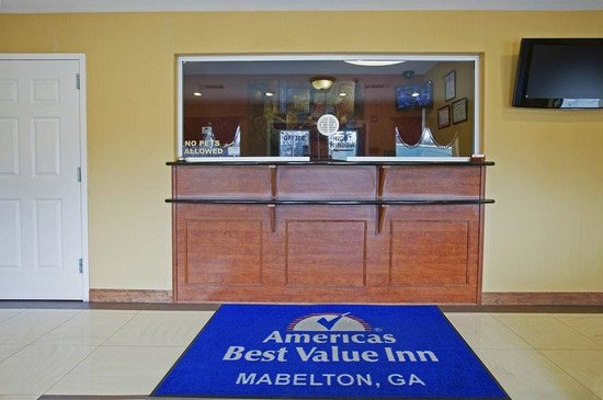 Americas Best Value Inn & Suites-Mableton/Atlanta : Lobby