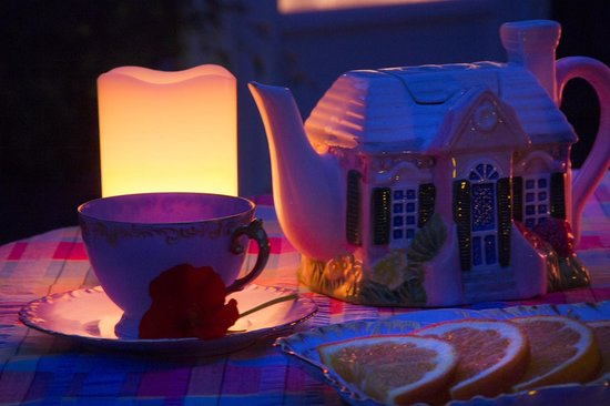 Wicky-Up Ranch Bed and Breakfast: Twilight Tea