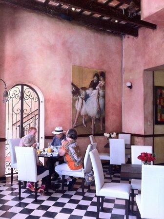 La Terraza de San Juan: Breakfast area