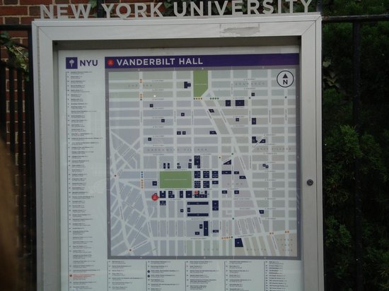 New York University: MAPA UNIVERSIDADE