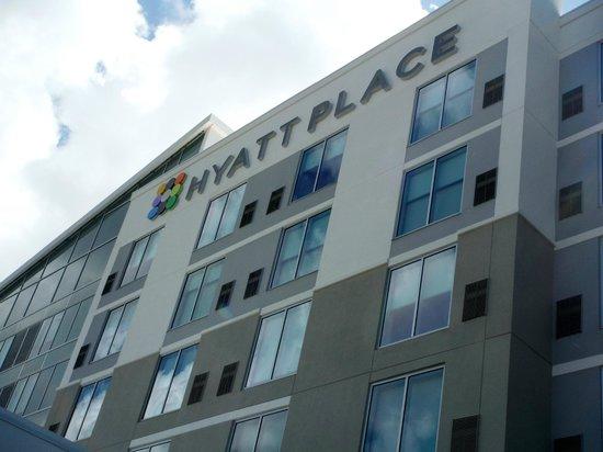 Hyatt Place Manati: Hotel facade