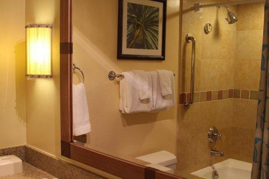 Marriott's Maui Ocean Club  - Lahaina & Napili Towers : Bath and shower