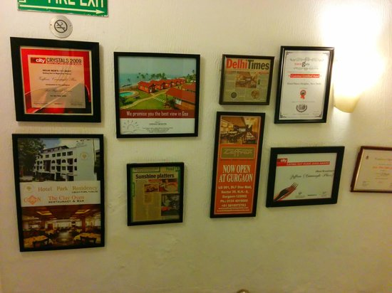 Zaffran's wall of fame - I am not surprised now !!!