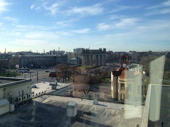 Holiday Inn St. Petersburg Moskovskiye Vorota: Вид из окна номера 602