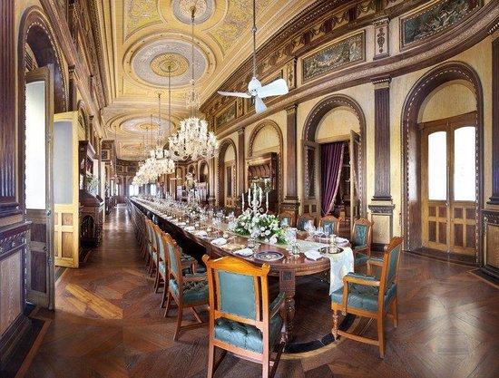 Taj Falaknuma Palace: Meeting Setup