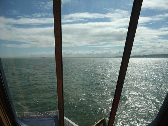 P&O Ferries - Day Trips : View from the front