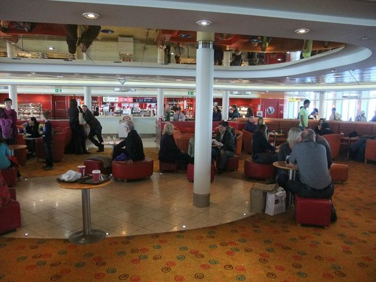 P&O Ferries - Day Trips : Lounge at the front