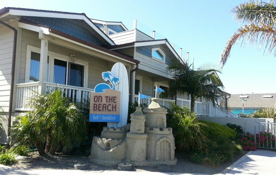 On The Beach Bed & Breakfast: Front/side of property