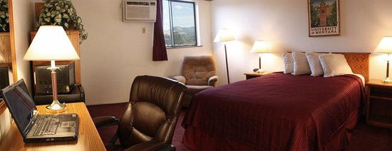 GuestHouse Inn & Conference Center Missoula: Queen Business Room