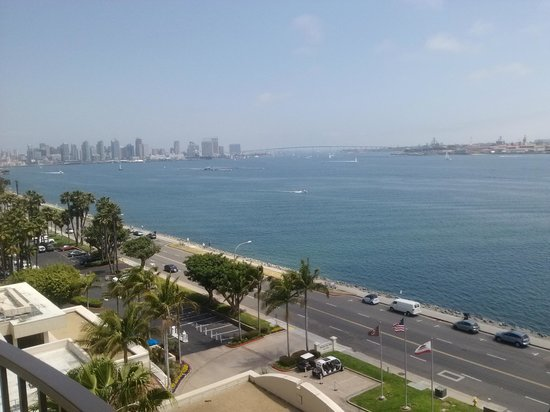The Sheraton San Diego Hotel & Marina : U have it all at this hotel. Our Honeymoon View.