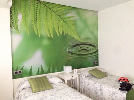 Pension Melida: Twin room