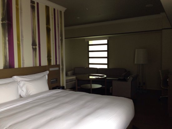 Swissotel Nankai Osaka : Our room