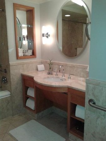 The Ritz-Carlton New York, Battery Park: Bathroom room 924