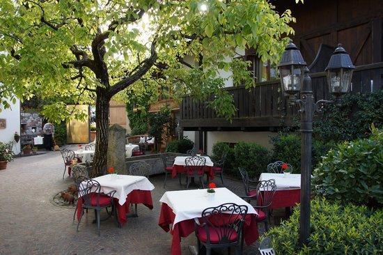 Ansitz Plantitscherhof: Hotelgarten