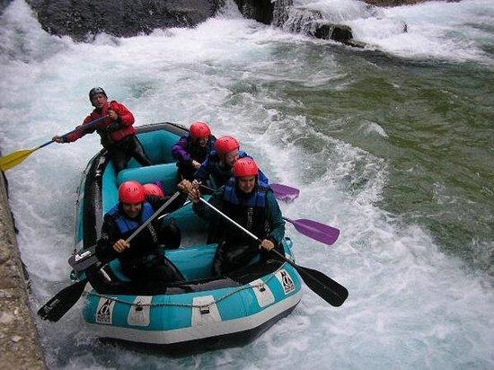 Aristi, Greece: Rafting in Boidomatis