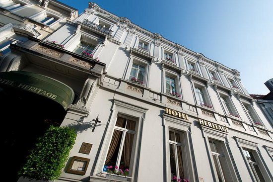 Hotel Heritage - Relais & Chateaux : facade