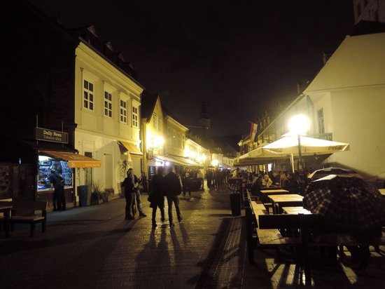 Tkalčićeva: The place to be on a weekend night