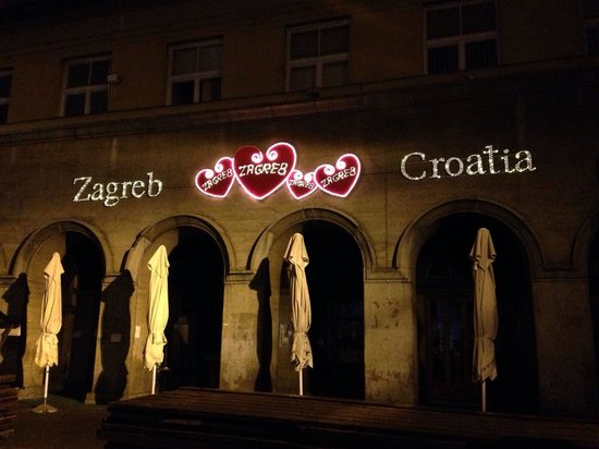 Upper Town (Gornji Grad) : Remnants from valentine's day