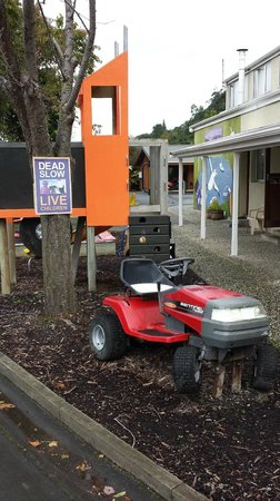 Leith Valley Holiday Park & Motels: Kiddie friendly