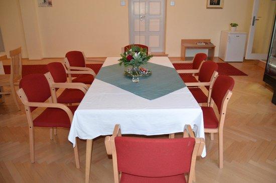 Gästehaus im Priesterseminar Salzburg: Aufenthaltsraum