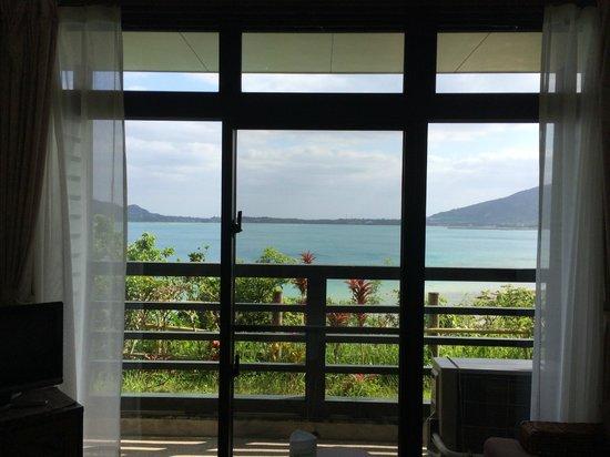 Petit Resort Native Sea Amami: 1階でもこの眺望