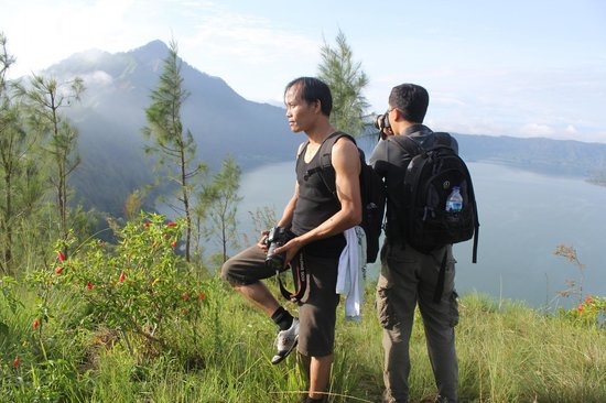 Songan, Indonesia: The TOP spot, stopping point