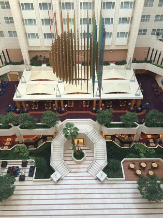 Hilton Prague: Udsigt over hotellets lobby