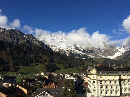 H+ Hotel & SPA Engelberg: Zimmeraussicht