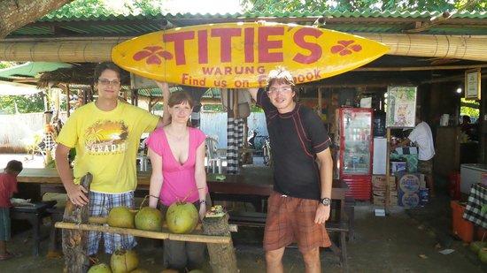 Titie's Warung: Ceko grup last day