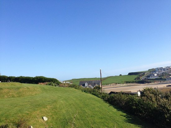 BEST WESTERN Porth Veor Manor Hotel: View from room 12
