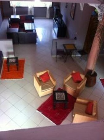 Riad Les 2 Mondes : Lobby