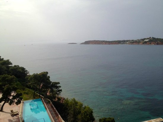 The Westin Athens Astir Palace Beach Resort: Room with a view (looking left)