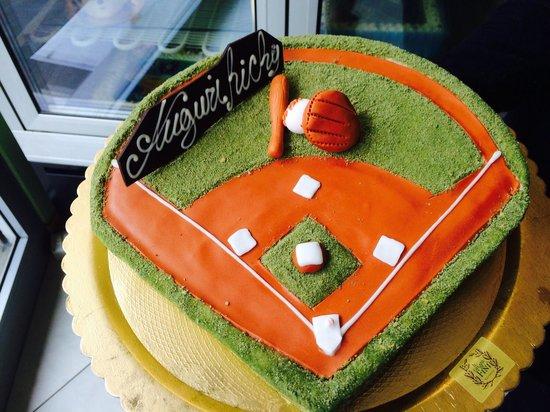 Gelateria Fini: Torta baseball
