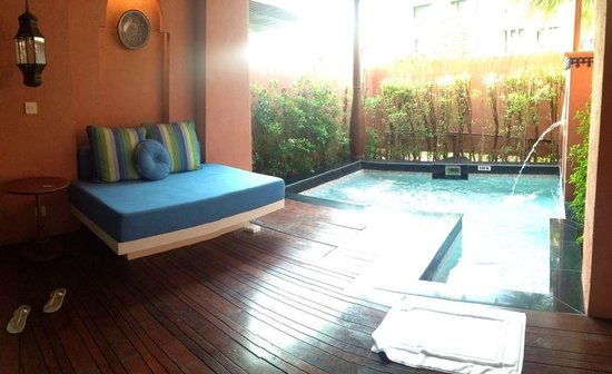 Marrakesh Hua Hin Resort & Spa: Fountain Pool Suiye Room No. 54