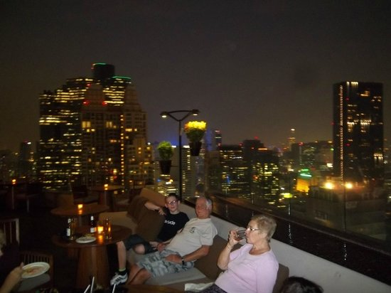 Anantara Sathorn Bangkok Hotel: kasara lounge