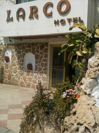 Larco Hotel: Hoteleingang
