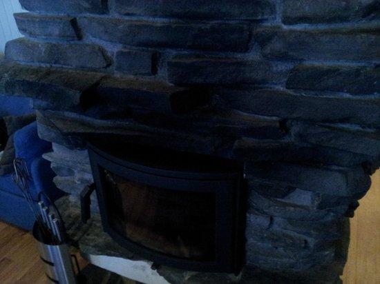 Holiday Club Saariselka: Fireplace