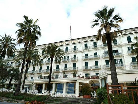 Royal Hotel Sanremo : Face à la mer