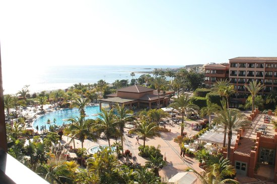 H10 Costa Adeje Palace: view from our room 561