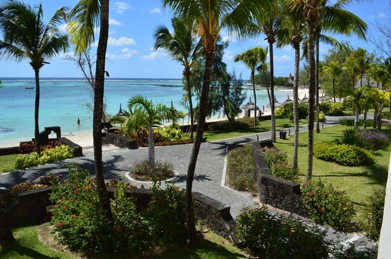Ambre Mauritius: View from room 250