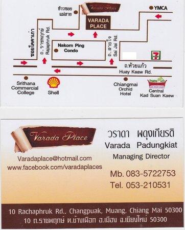 Varada Place: Map