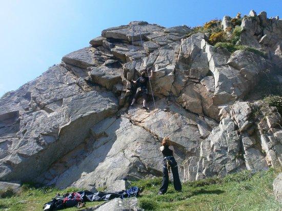 Sentier Des Douaniers: spots d'escalade pointe de Primel Trégastel à Plougasnou