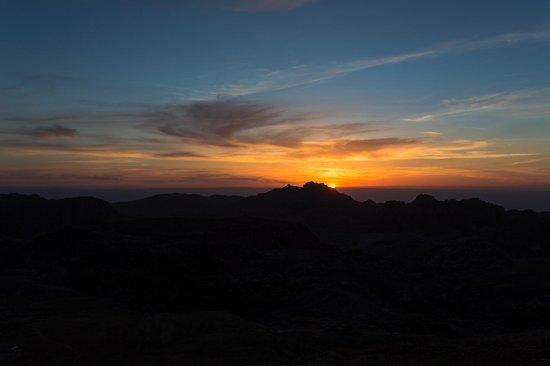 Grand View Resort Petra: Tramonto su Petra
